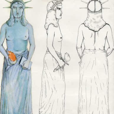 MOMA's Lady Liberty