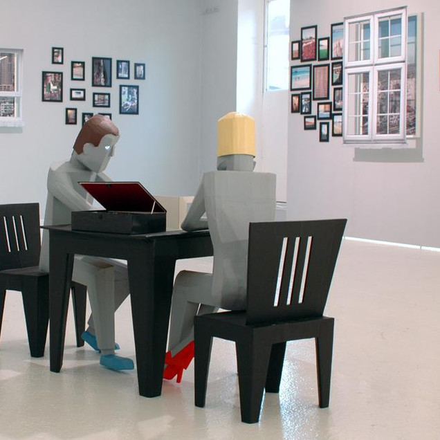 Charlie Koolhaas – Room for Thought, Lucy Mackintosh Gallery, 2011