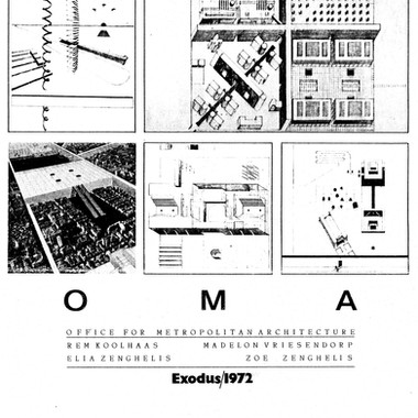 Exodus '72 was the first collaboration of the pre-OMA founders