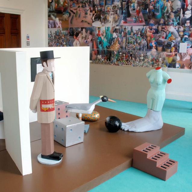 World of Madelon Vriesendorp: Exhibitions