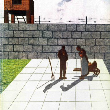 Collaboration with Rem, Casabella Magazine, Milan, 1972