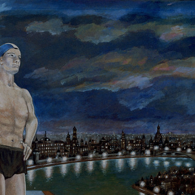 Swimmer, The Story of the Pool, 1988