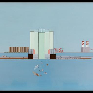 Welfare Palace Hotel, Sunken Medusa Raft, 1975-1976