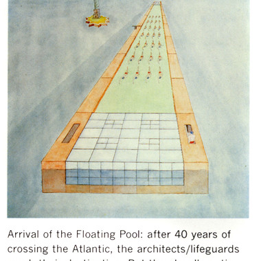 Arrival of the Floating Pool