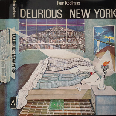 Flagrant Délit on Cover of Delirious New York