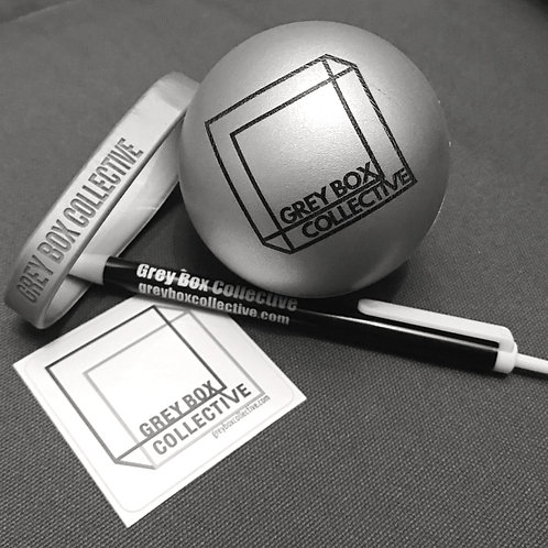 GBC Swag Grab Bag (Stress Ball, Stickers, Pen, Wrist Band)