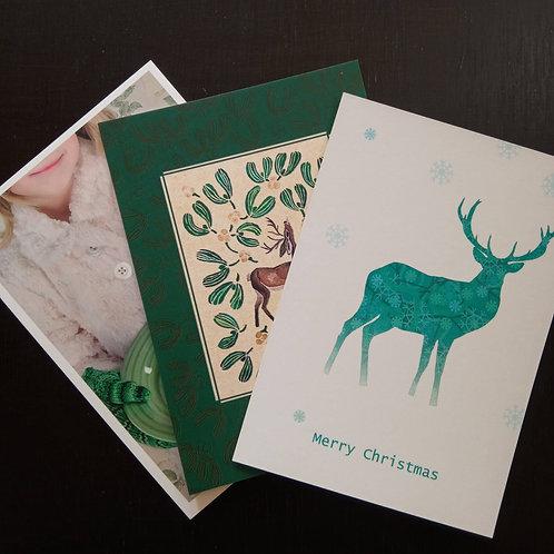 Christmas(10) - Bundle of 10 postcards