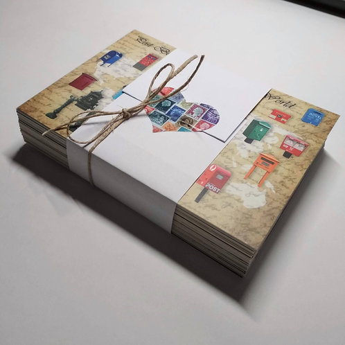 Surprise Bag of 50 Postcards