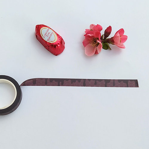 Chocolate Washi tape by PostcardSisters
