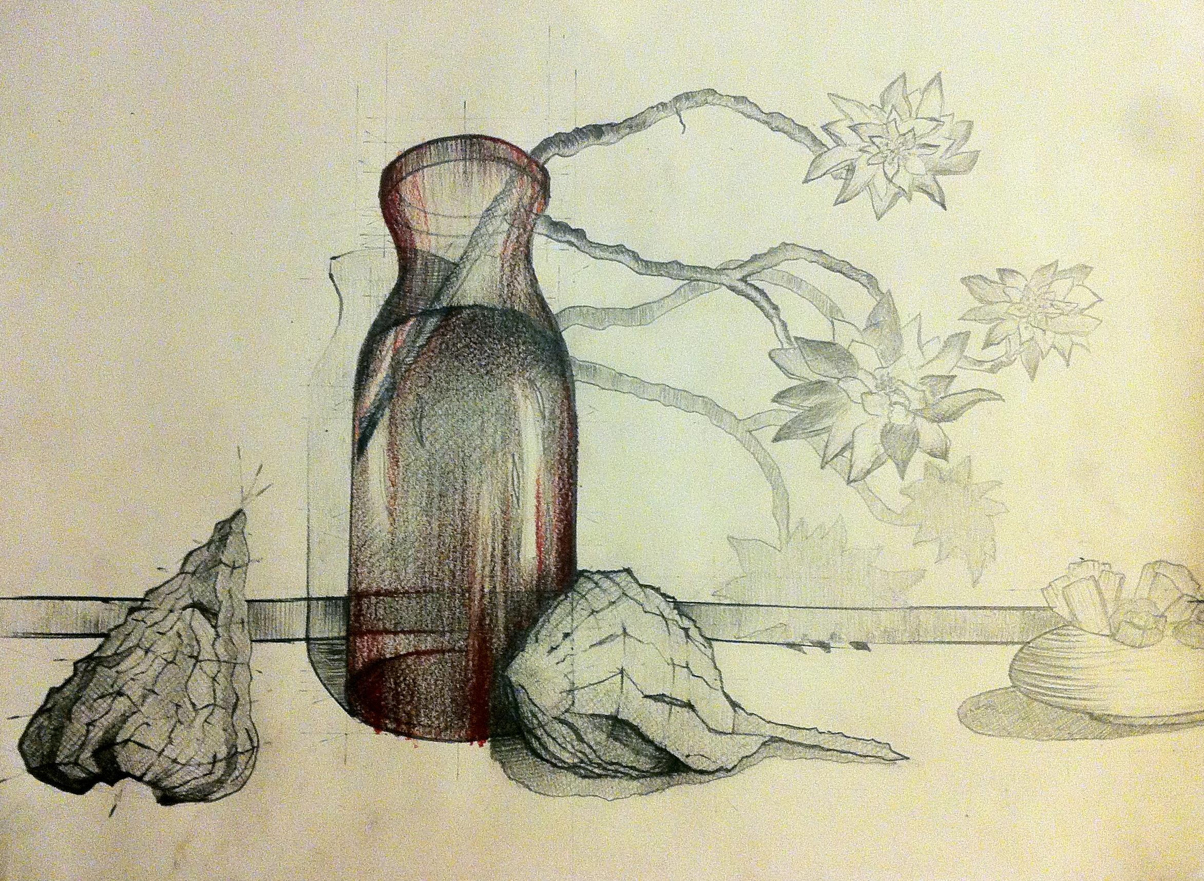 studiu natura moarta
