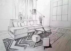 Interior modernist