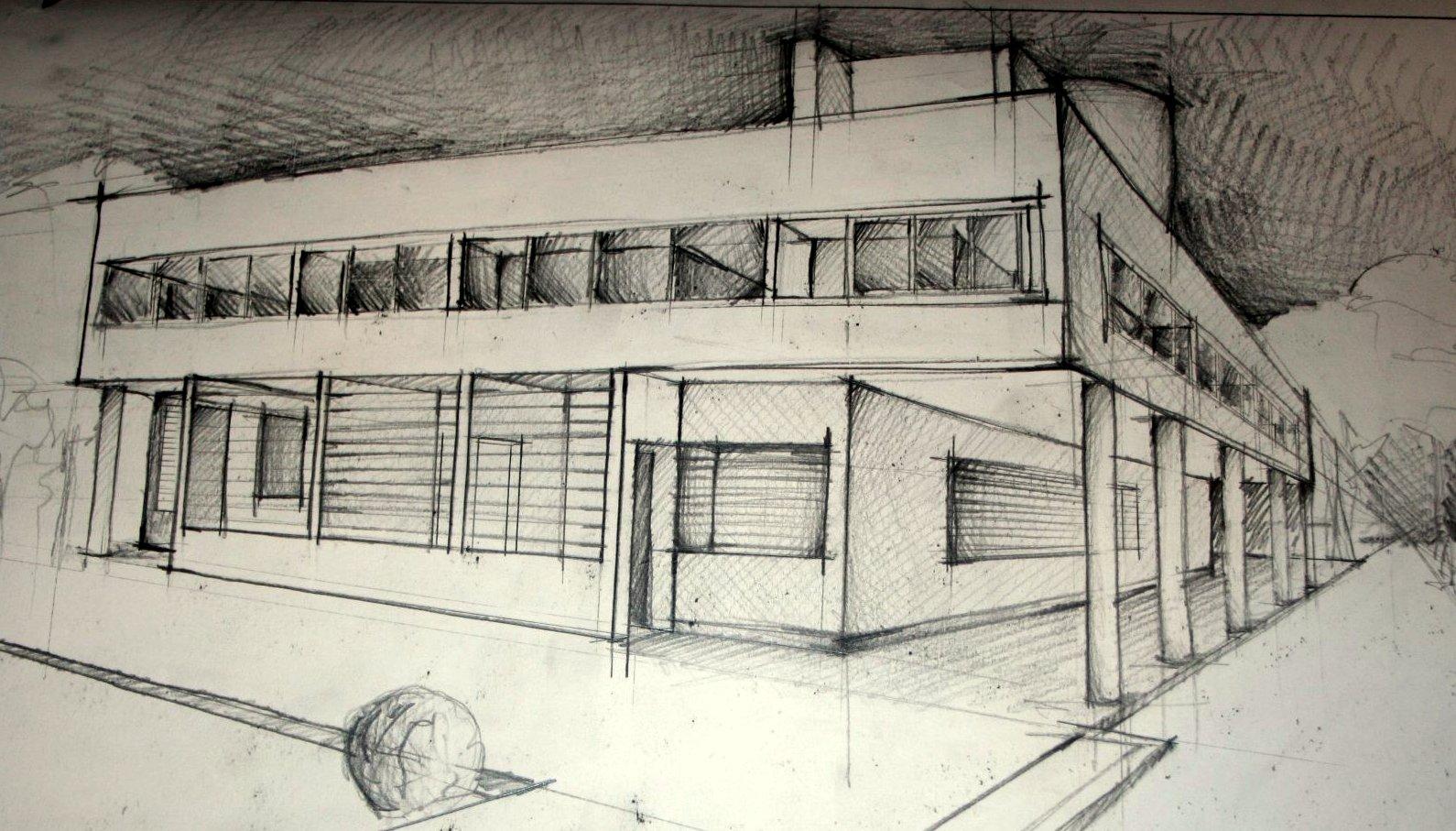 studiu - Le Corbusier