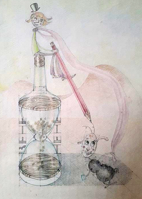 Desen ilustratie - Micul Print