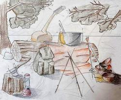 Compozitie camping