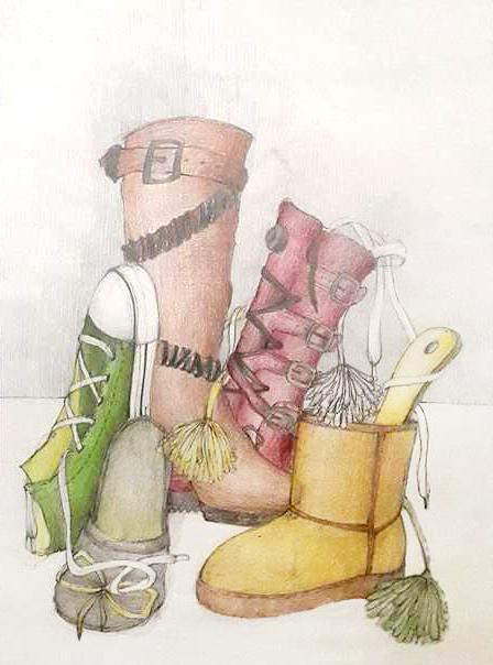 Compozitie papuci