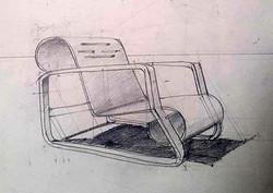 Scaun Alvar Aalto