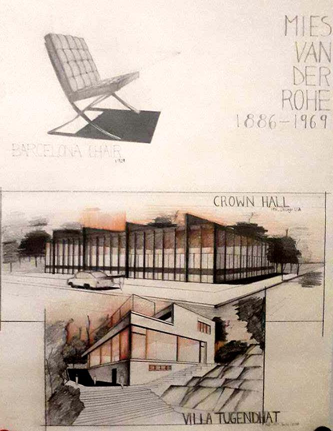 Perspective Mies van der Rohe