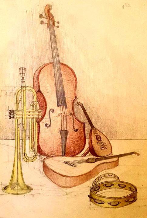 Compozitie instrumente muzicale