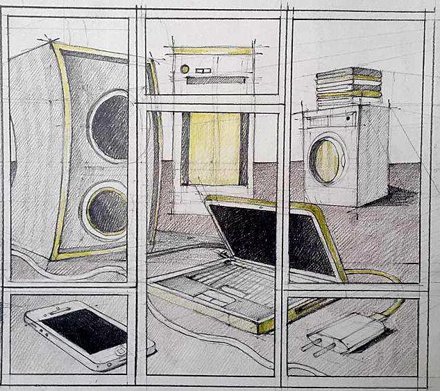 Compozitie obiecte electronice