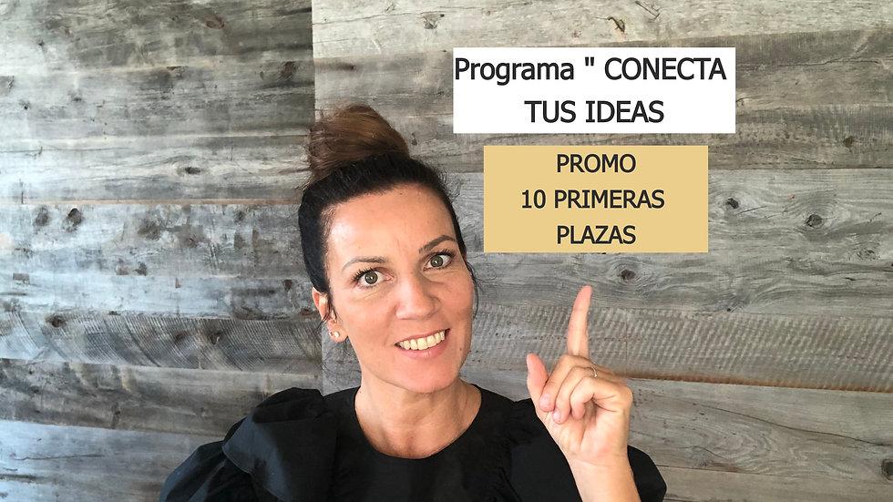 "PROMO Programa ""CONECTA TUS IDEAS"""