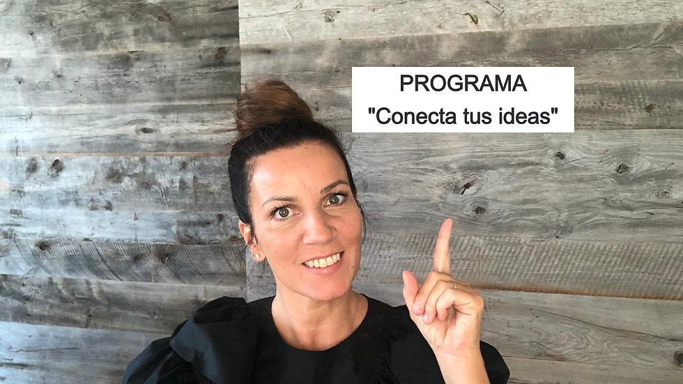 "Programa ""CONECTA TUS IDEAS"""