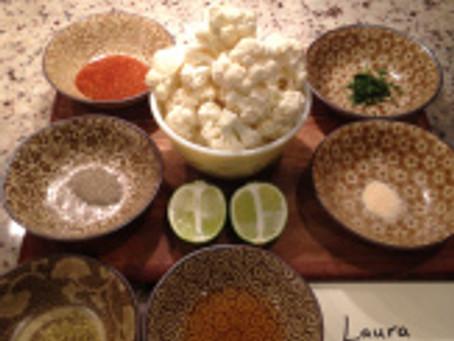 Tasty Tuesday Plant Based Preparations: Roasted Cauliflower