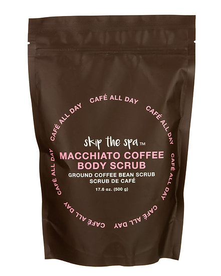 Coffee and Salt Body Scrub