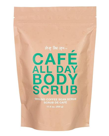Coffee and Salt Body Scrub