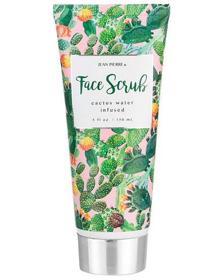 Cactus Water Infused Face Scrub