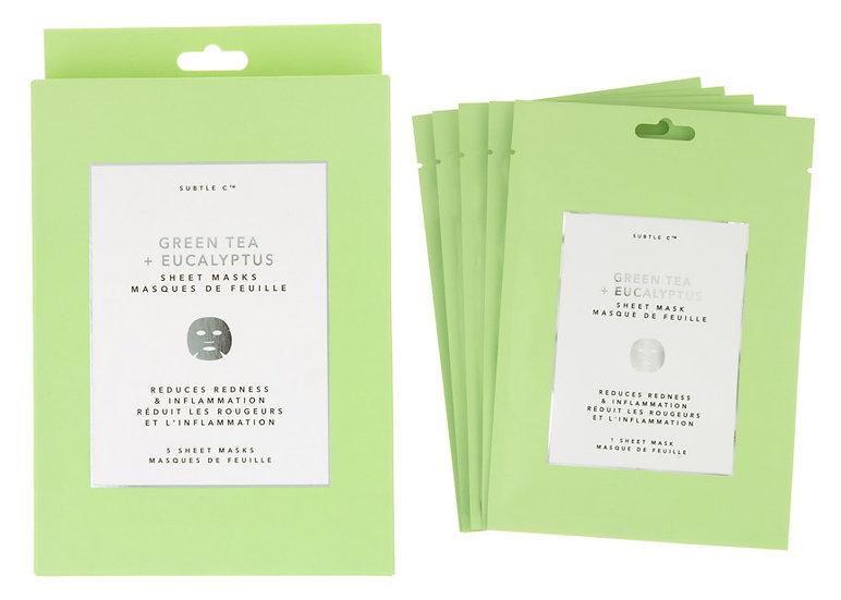 Green Tea + Eucalyptus Sheet Mask