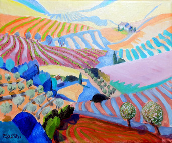 621-Provencal Vines
