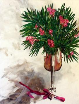 418-Laurier-rose Bouquet