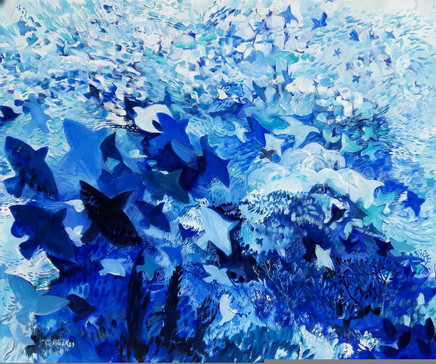 630-Blue Roost