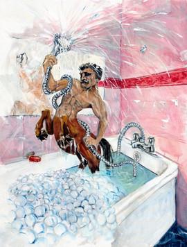 424-Hotel Shower, Ichthyocentaur
