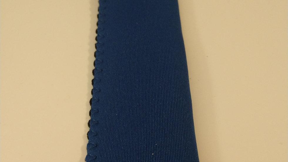 Blue popsicle holder