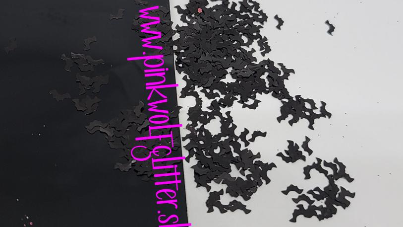 Black Bats (5mm) *Shapes*
