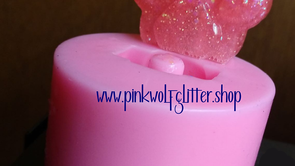 Paw Straw Topper Mold