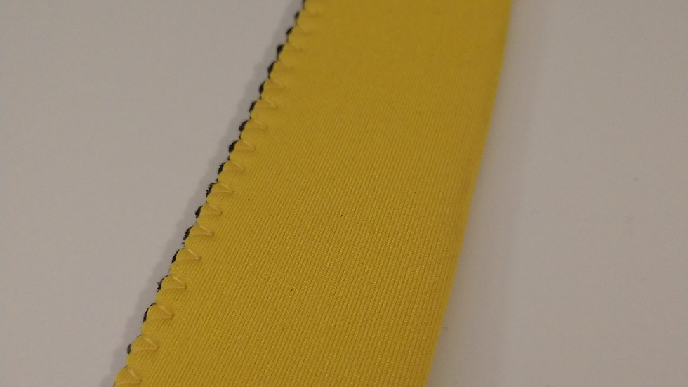 Yellow popsicle holder