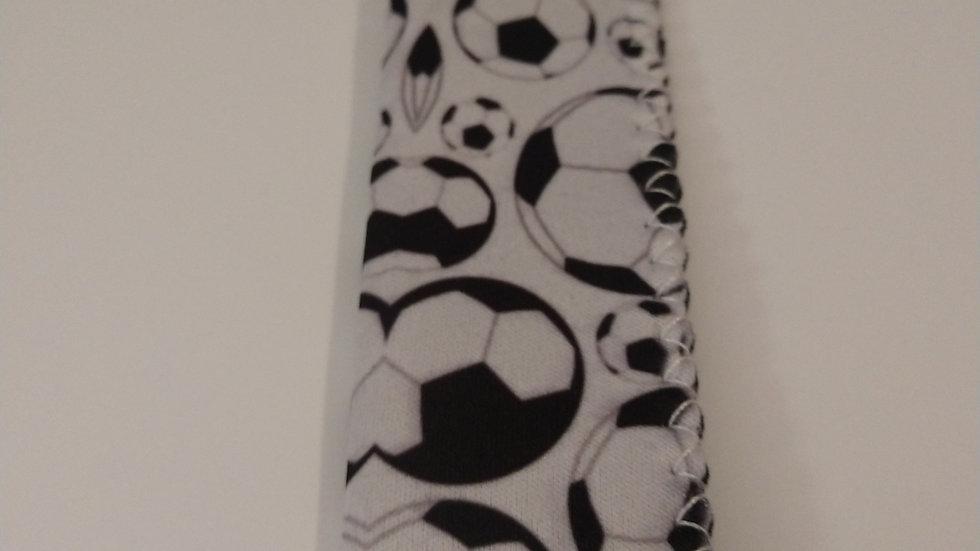 Soccer popsicle holder