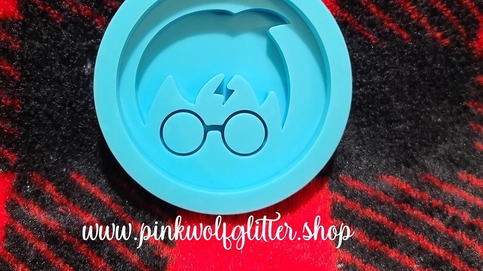 Harry Potter Badge Reel Phone Grip size mold