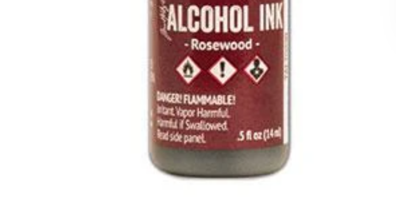 Tim Holtz Alcohol Ink-Rosewood