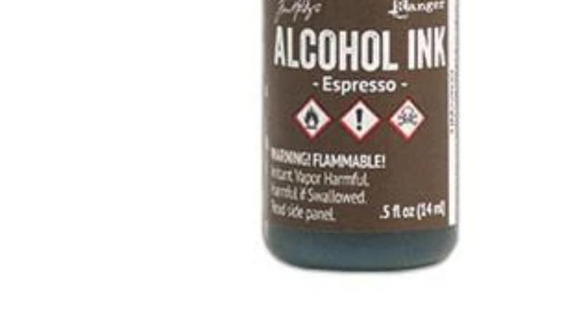 Tim Holtz Alcohol Ink- Espresso