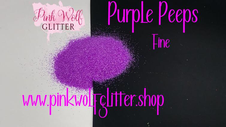 Purple Peeps *Fine*