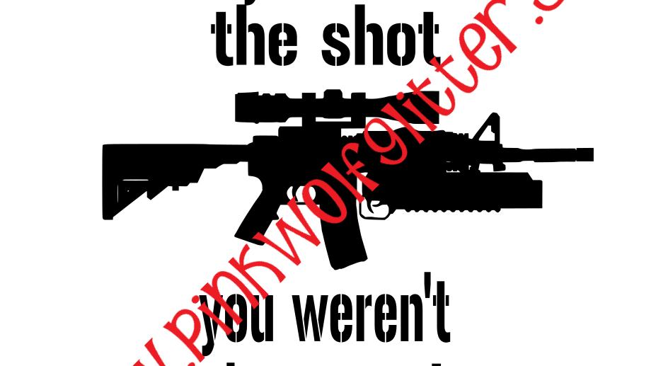 Heard The Shot SVG