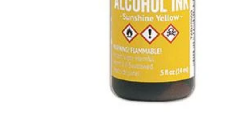 Tim Holtz Alcohol Ink- Sunshine Yellow