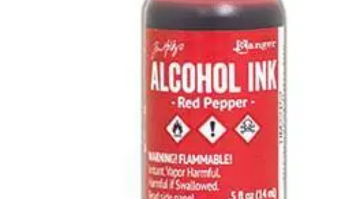 Tim Holtz Alcohol Ink- Red Pepper