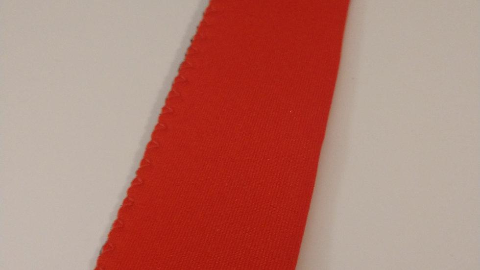 Bright red popsicle holder
