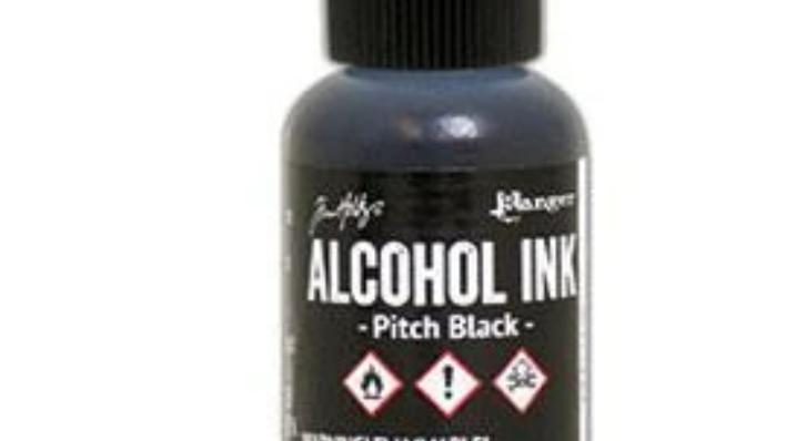Tim Holtz Alcohol Ink- Pitch Black
