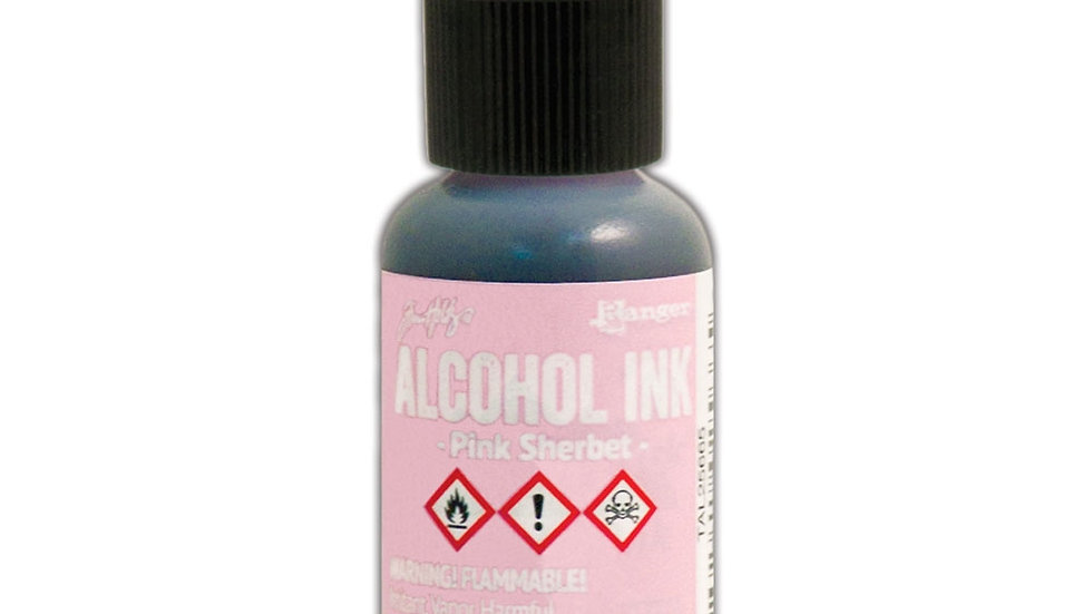 Tim Holtz Alcohol Ink- Pink Sherbet