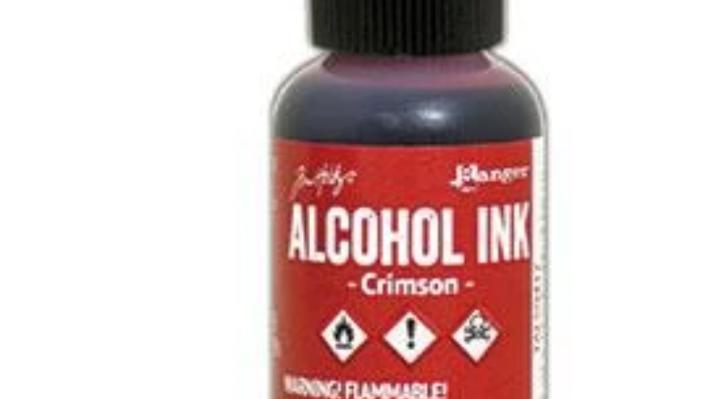 Tim Holtz Alcohol Ink- Crimson